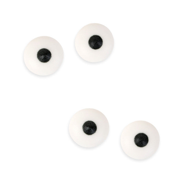 Medium Eyeballs Royal Icing Decorations (Bulk)