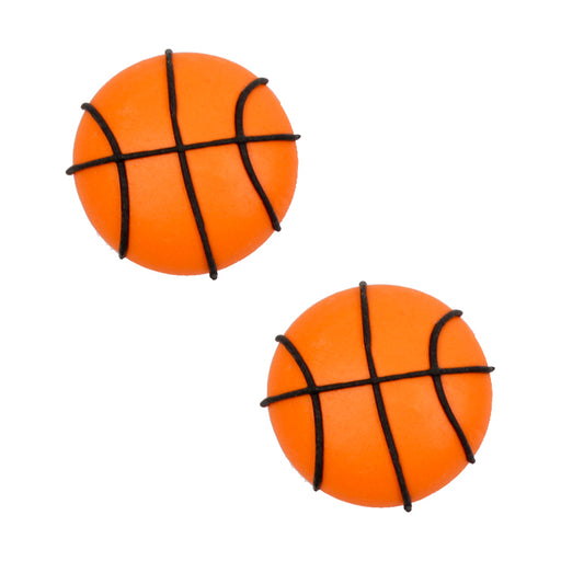 Basketball Royal Icing Decorations (Bulk)