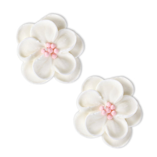 Wild Cherry Blossom Royal Icing Decorations (Bulk)