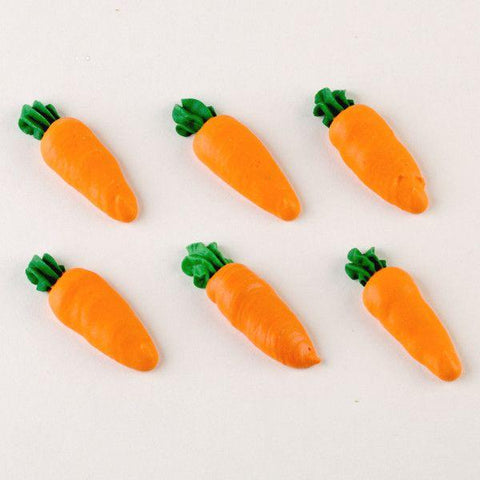 Carrots Royal Icing Decorations (Bulk)