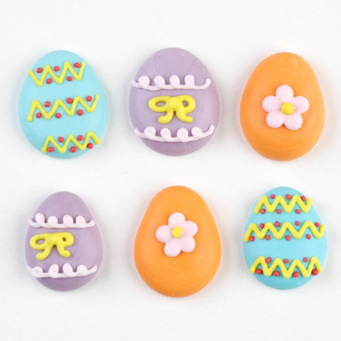 Easter Egg Royal Icing Decorations