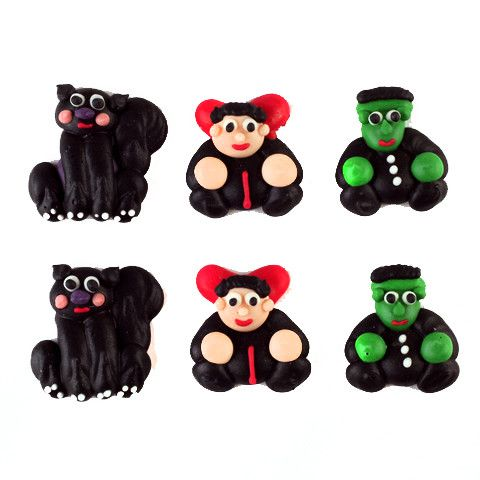 Halloween Royal Icing Decorations