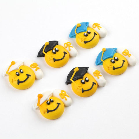 Happy Graduate Royal Icing Decorations