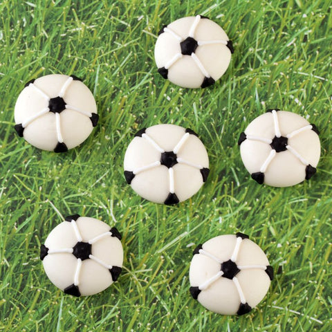 Soccer Ball Royal Icing Decorations