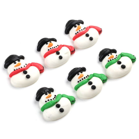 Snowman Royal Icing Decorations