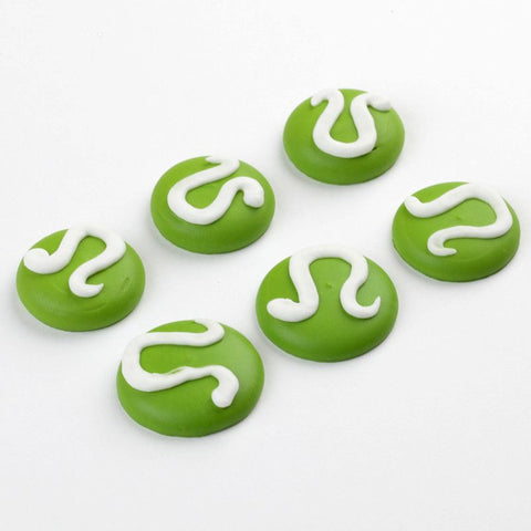 Tennis Ball Royal Icing Decorations
