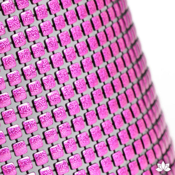 Hot Pink Luxury Glam Ribbon - Cake Wrap