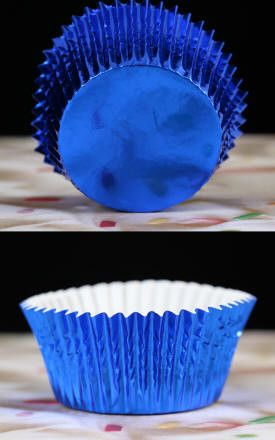 Foil Baking Cups - Blue