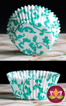 Ivy Baking Cups - Green