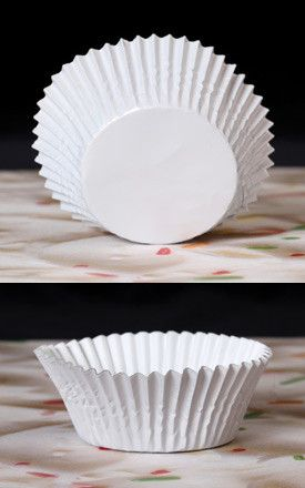 Foil Baking Cups - White