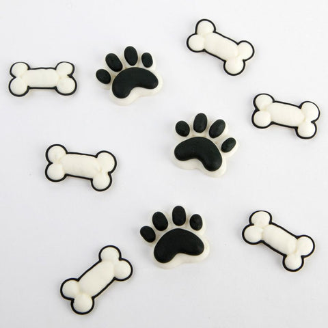 Paw & Bones Royal Icing Decorations