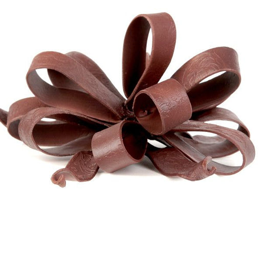 Large Ribbon Loops & Tails- Chocolate