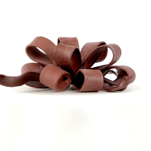 Medium Ribbon Loops & Tails - Chocolate