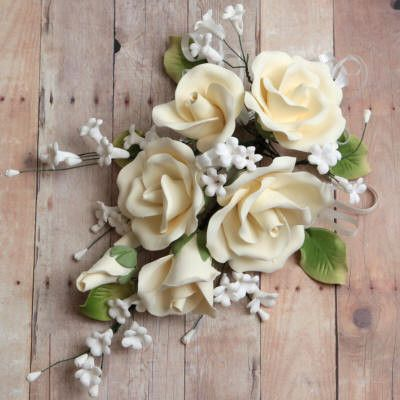 Garden Rose Sprays - Ivory