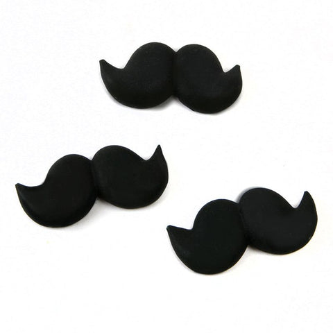 Mustache Royal Icing Decorations