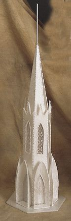 Steeple #1 Castle Cake Toppers