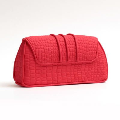 Red Fondant Clutch Purse cake topper perfect for cake decorating fondant cakes & brides cakes. Caljava