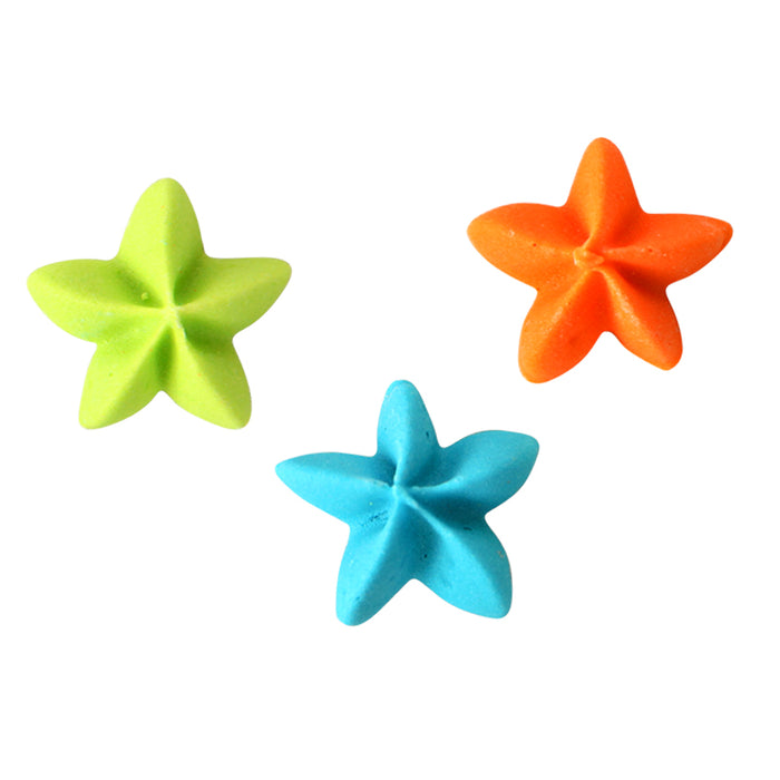 Stars Royal Icing Toppers great for decorating cupcakes, cookies, cakes, candy and chocolates.
