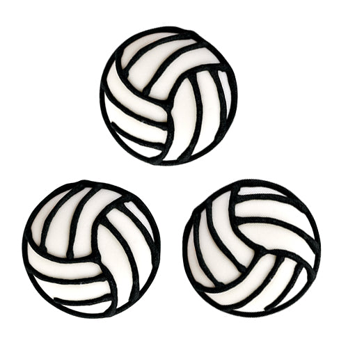Volleyball Royal Icing Toppers great for decorating cupcakes, cookies, cakes, candy and chocolates.