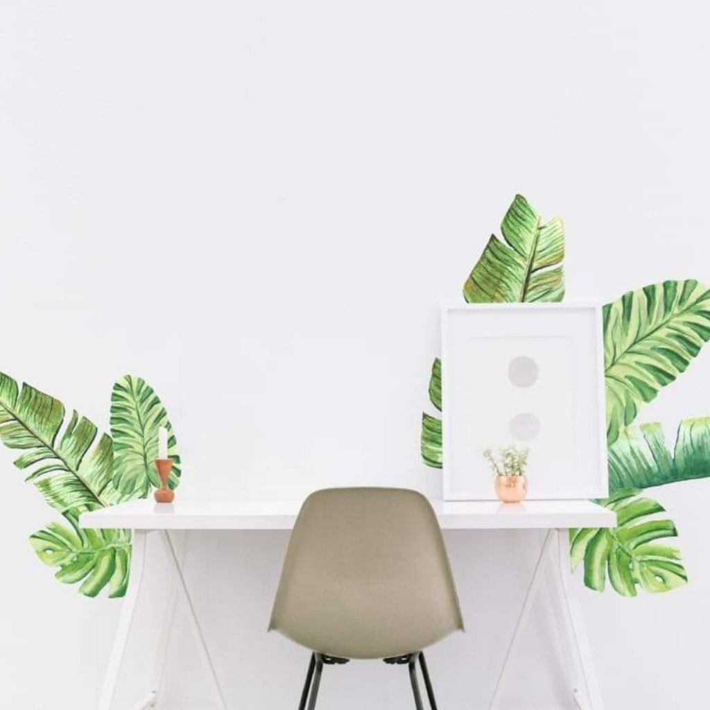 Picture Perfect Decals Tropical Palm Leaves Peel And Stick Wall Stickers Easy No Paint Tropical rainforest plants that can be used in the garden to add color, diversity and charm. picture perfect decals