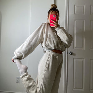 oatmeal daydreamer sweatsuit bottoms