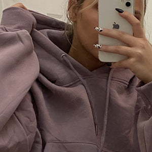 pale grape daydreamer sweatsuit top