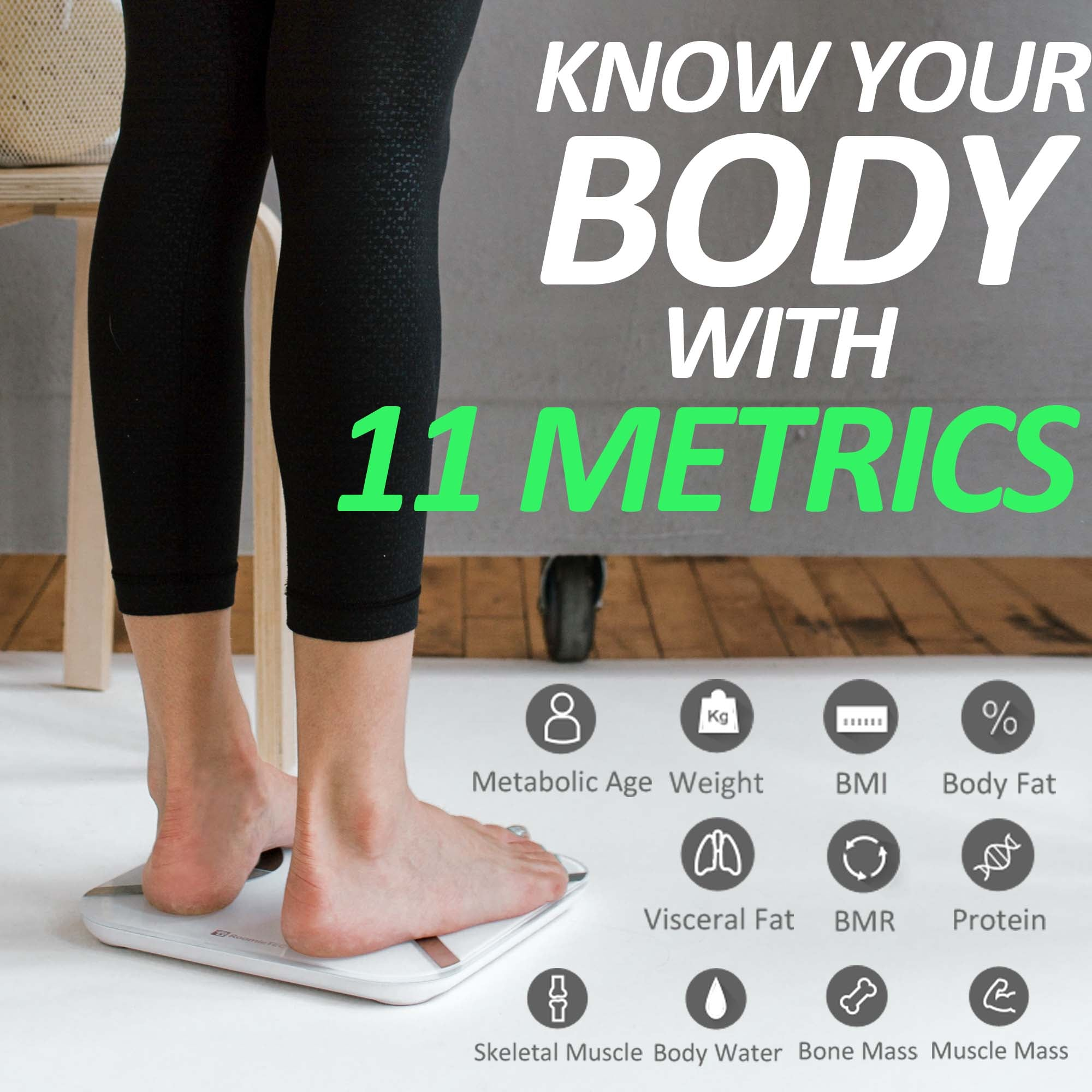'Sophie' Smart Body Scale
