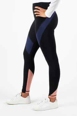 Piper Mesh Block Legging