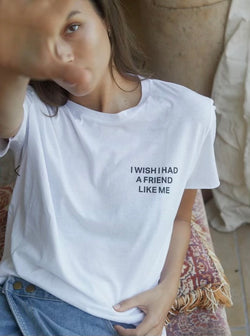 I Wish I Had A Friend Like Me Top