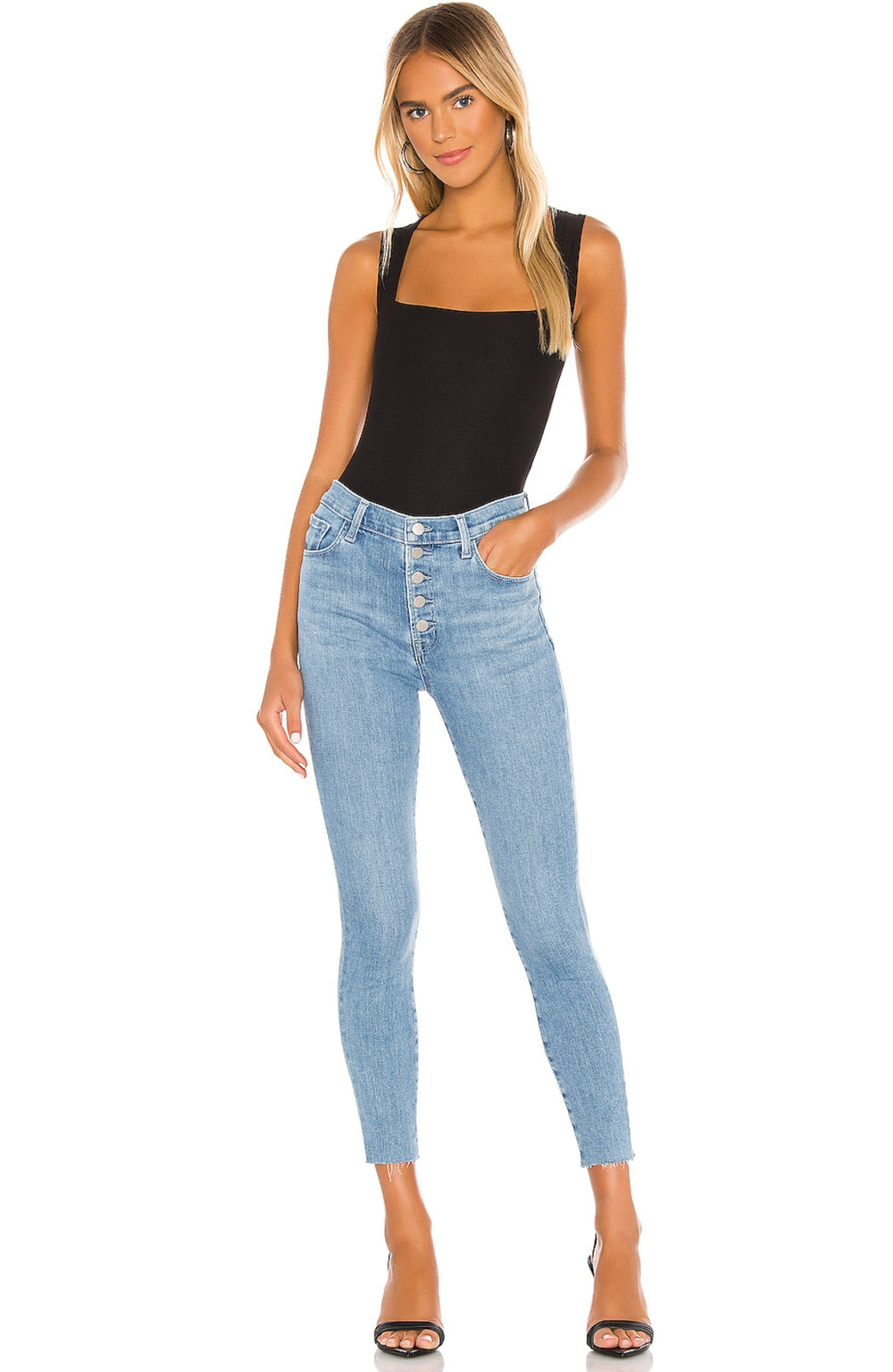 Lillie High Rise Crop