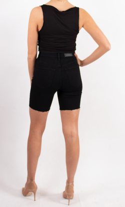 Izzy High Rise Slim Biker Short