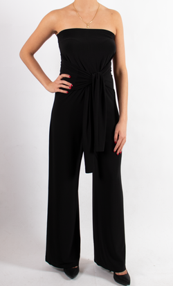 Ty Front All In One Strapless Jumpsuit