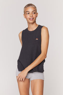 Light Surplice Back Swing Tank