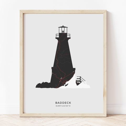 Baddeck Lighthouse Print