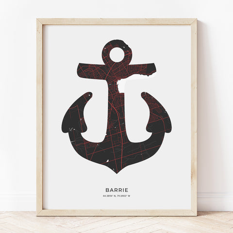 Barrie Anchor Print