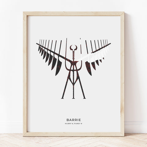 Barrie Spirit Catcher Print