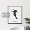 Blue Mountains Skier Print