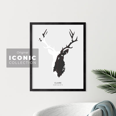 Clare Stag Print