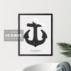 Collingwood Anchor Print