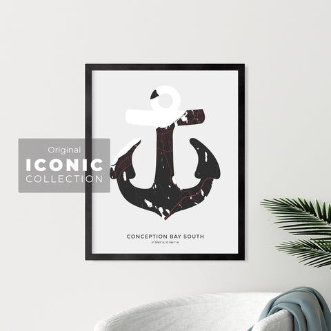 Conception Bay South Anchor Print
