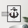 Cornerbrook Anchor Print