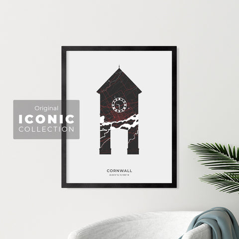 Cornwall Clock Tower Print