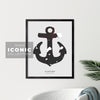 Glace Bay Anchor Print