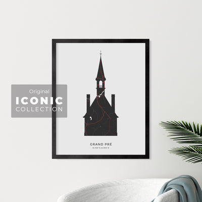 Grand-Pré Church Print