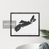 Nova Scotia Heritage Map Print