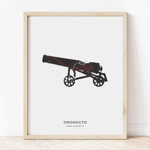 Oromocto Cannon Print