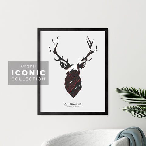 Quispamsis Stag Print