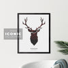 Riverview Stag Print