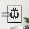 Shelburne Anchor Print