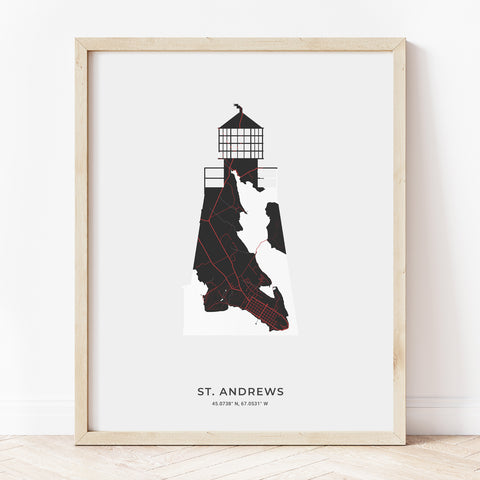 Saint Andrews Lighthouse Print